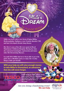Millies Dream A5 Flyer NOV 2016